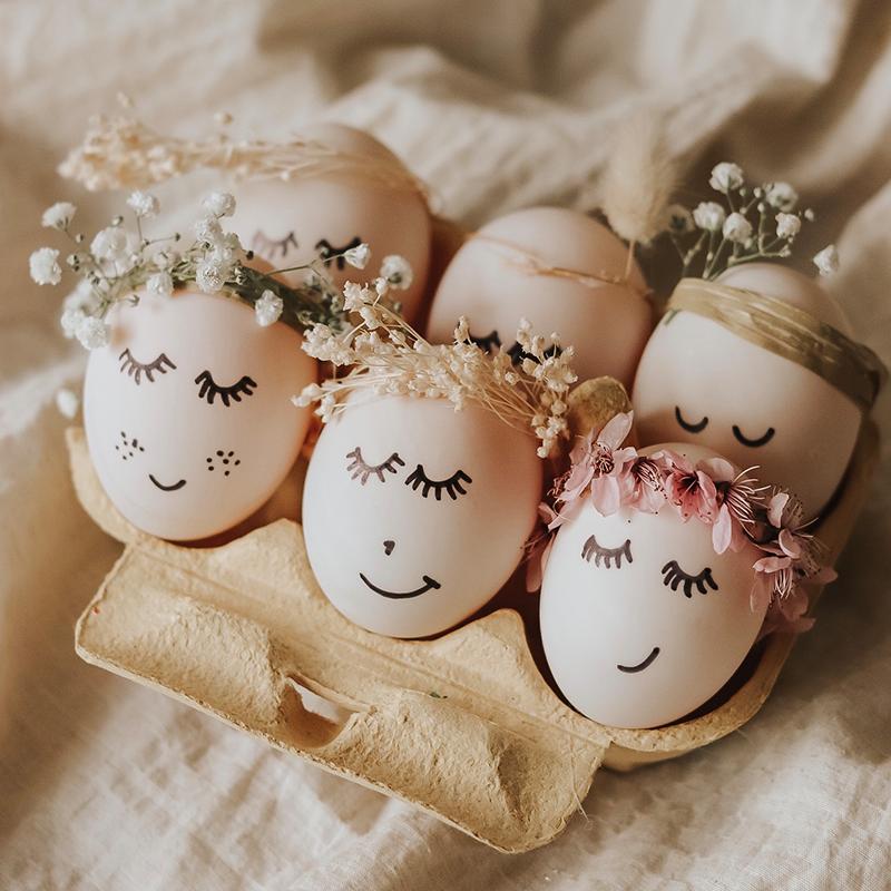 Katies zauberhafte Ostereier – für Ostern