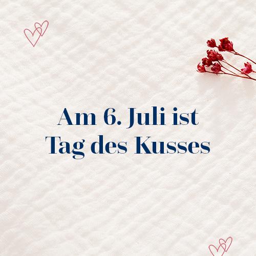 Tag des Kusses am 6. Juli – Die 5 spannendsten Fakten rund ums Küssen