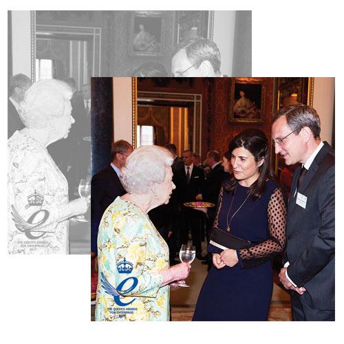 """Merci Maman récompensé du prestigieux """"Queen's Award for Enterprise"""" dans la catégorie Commerce International"""