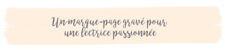 Marque-page personnalisé