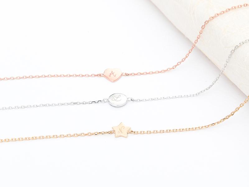 Bracelet Mini Charm sur chaîne personnalisé