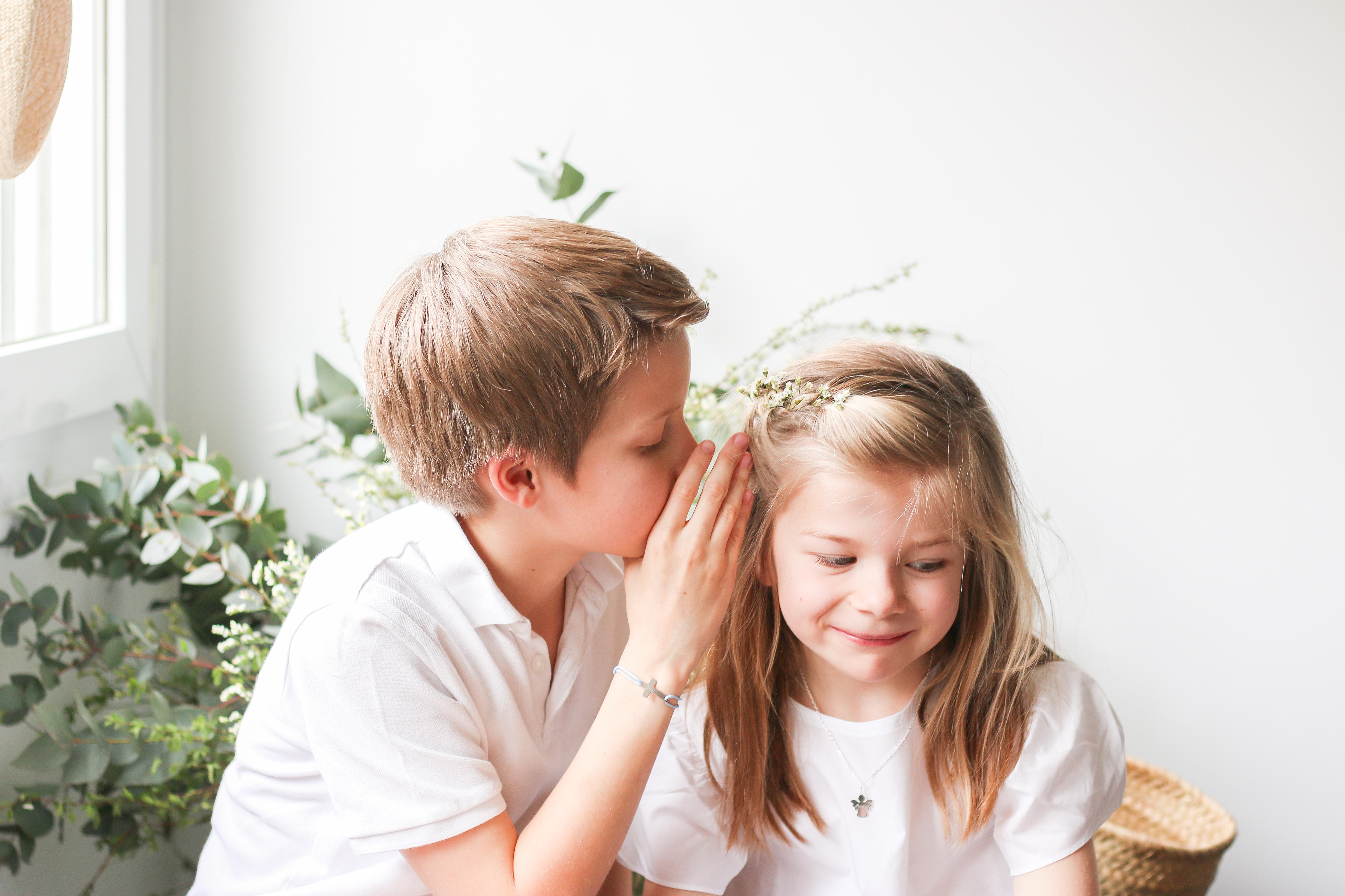 Baptême et Communion Merci Maman