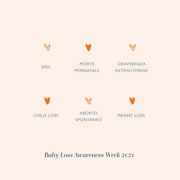 Baby Loss Awareness Day – Giornata mondiale consapevolezza perdita perinatale e infantile.