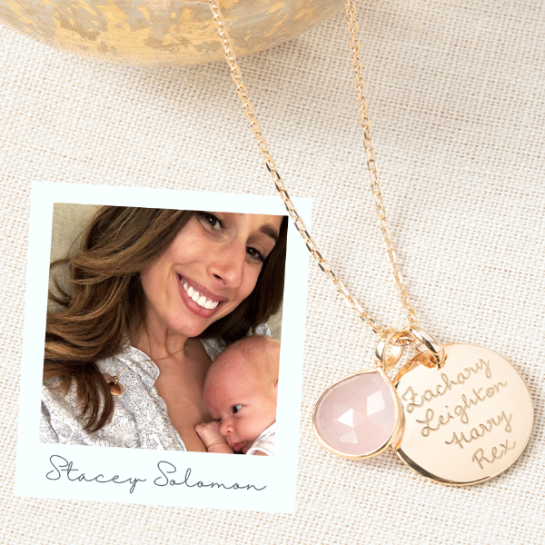 Stacey Solomon has the royal edge…