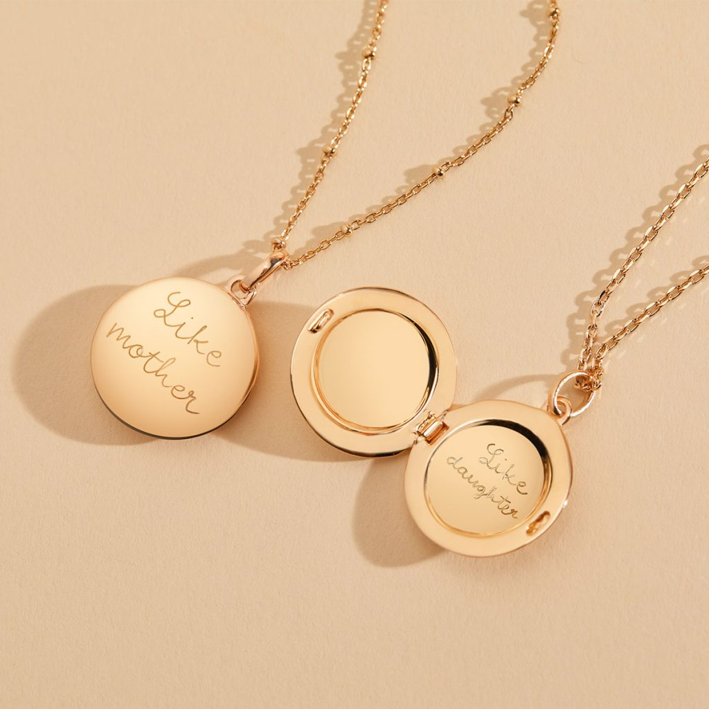 Product image of Personalised Locket Necklace