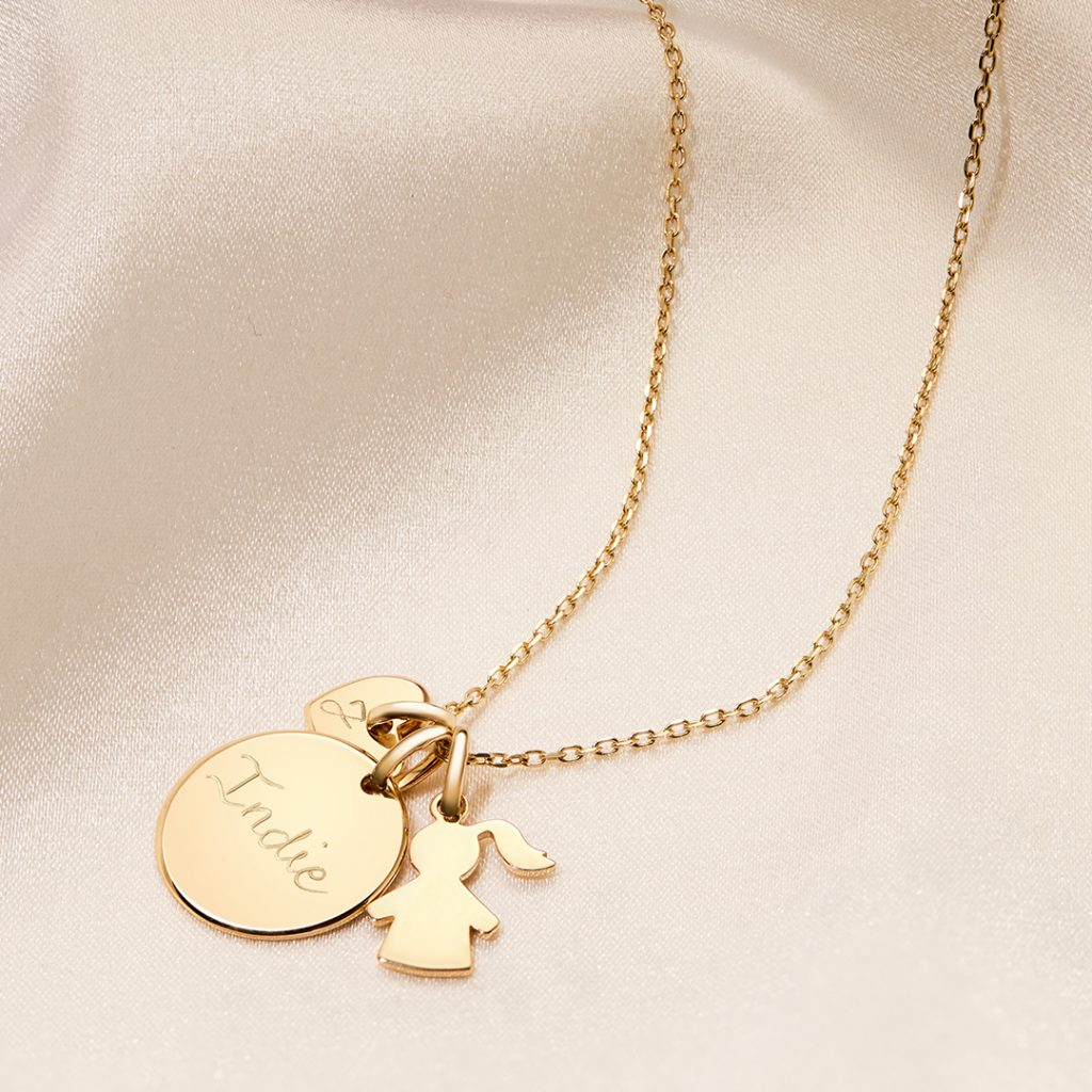 Product Image of Fine Solid Gold Duchess Necklace