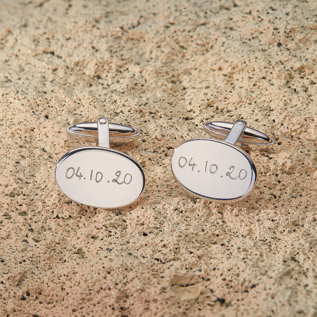 Product image of Oval Cufflinks