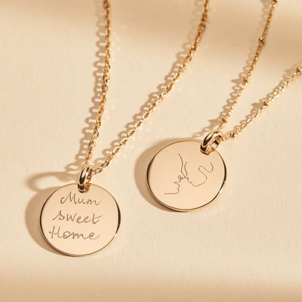 Personalised Mother Daughter Necklace: A Unique Gift